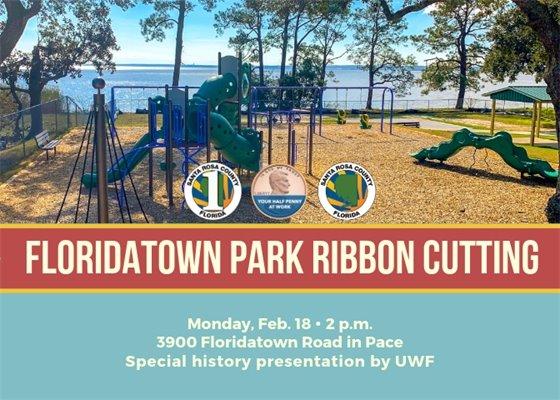 Floridatown Park Ribbon Cutting