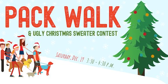 Dec. 19 Pack Walk Event Header