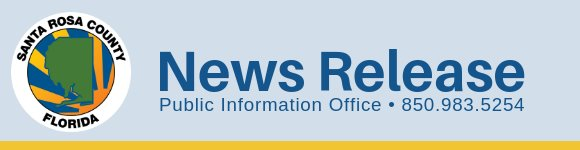 News Release: Public Information Office, 850-983-5254