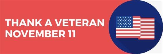 Thank a Veteran November 11