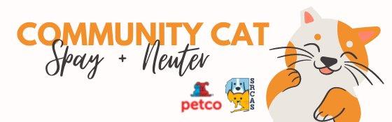 Community Cat Program Header Graphic
