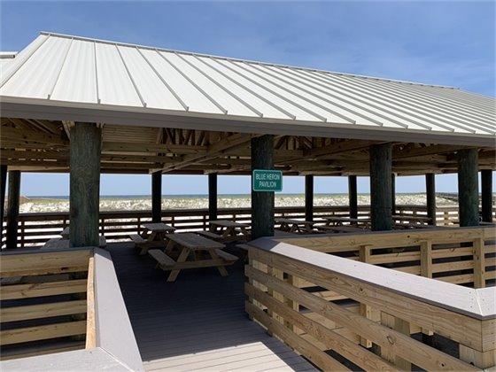 Blue Heron Pavilion at Navarre Beach Marine Park
