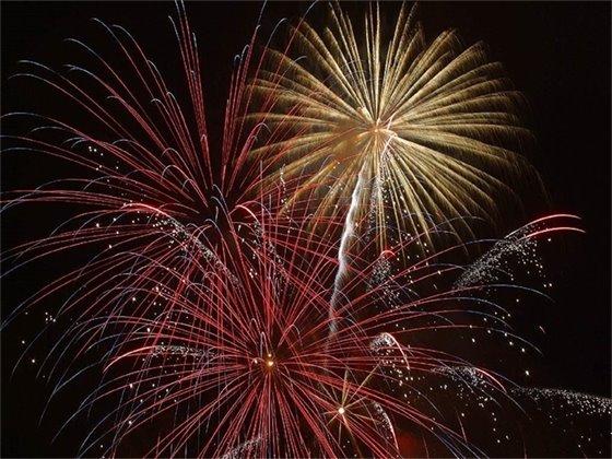 Fireworks on Navarre Beach - July 4, 9 p.m.