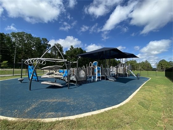 New playground at Benny Russell Park