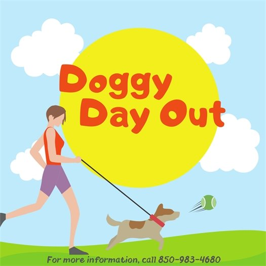 Doggy Day Out Program Graphic