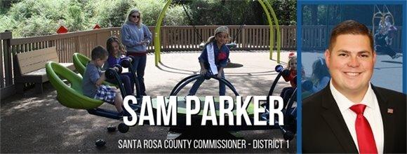 Sam Parker, Santa Rosa County Commissioner - District 1
