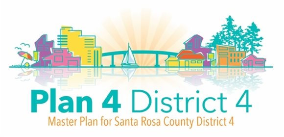 Plan 4 District 4 Master Plan for Santa Rosa County District 4
