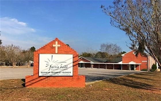 Cold weather shelter at Ferris Hill Baptist Church in Milton, FL
