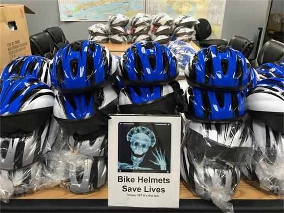 Bike helmets save lives!