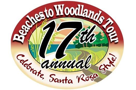 17th annual Beaches to Woodlands Tour. Celebrate, Santa Rosa Style!