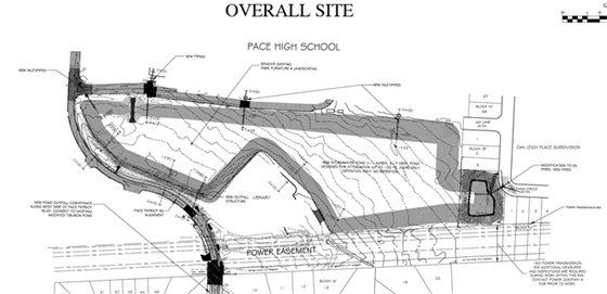 Graphic of Tiburon drainage project