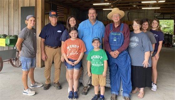 Wendt Farm and Nursery, Farm Family of the Year 2021 Santa Rosa County