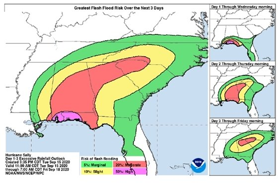 Flash flood potential