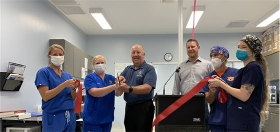 Ribbon Cutting for new surgery suite at Santa Rosa County Animal Services