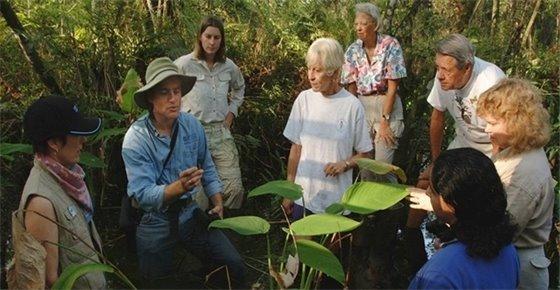 Florida Master Naturalist Program outdoor class