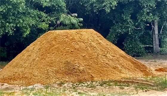 Sand available at four locations in the county