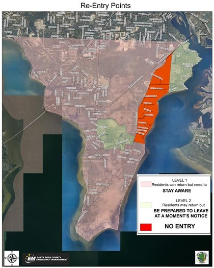 Evacuation Areas