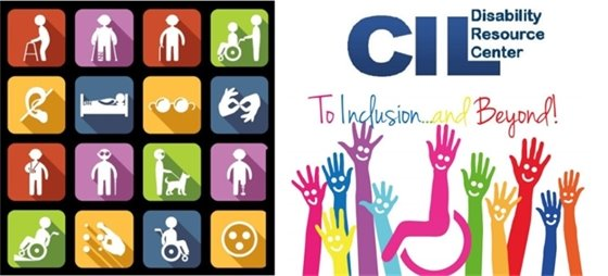 Center for Independent Living Disability Resource Center - to inclusion and beyond! (logo)