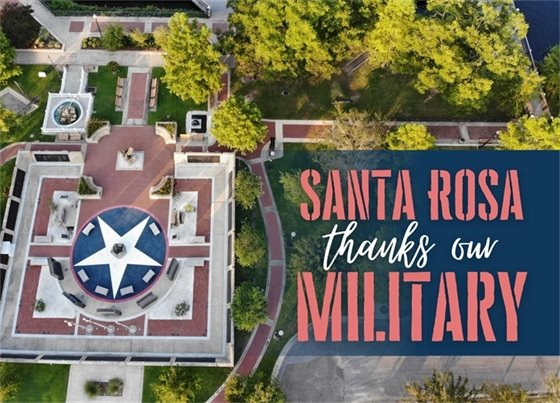 Santa Rosa Thanks Our Military