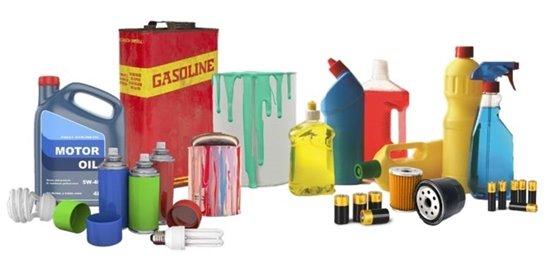 Common household hazardous waste