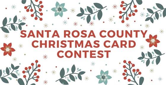 Santa Rosa County Christmas Card Contest