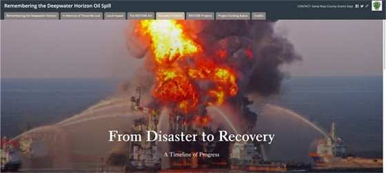 Remembering the Deepwater Horizon Oil Spill. From Disaster to Recovery. A Timeline of Progress.