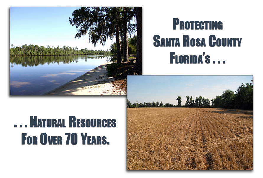 Protecting Santa Rosa County Florida's natural resources for over 70 years.