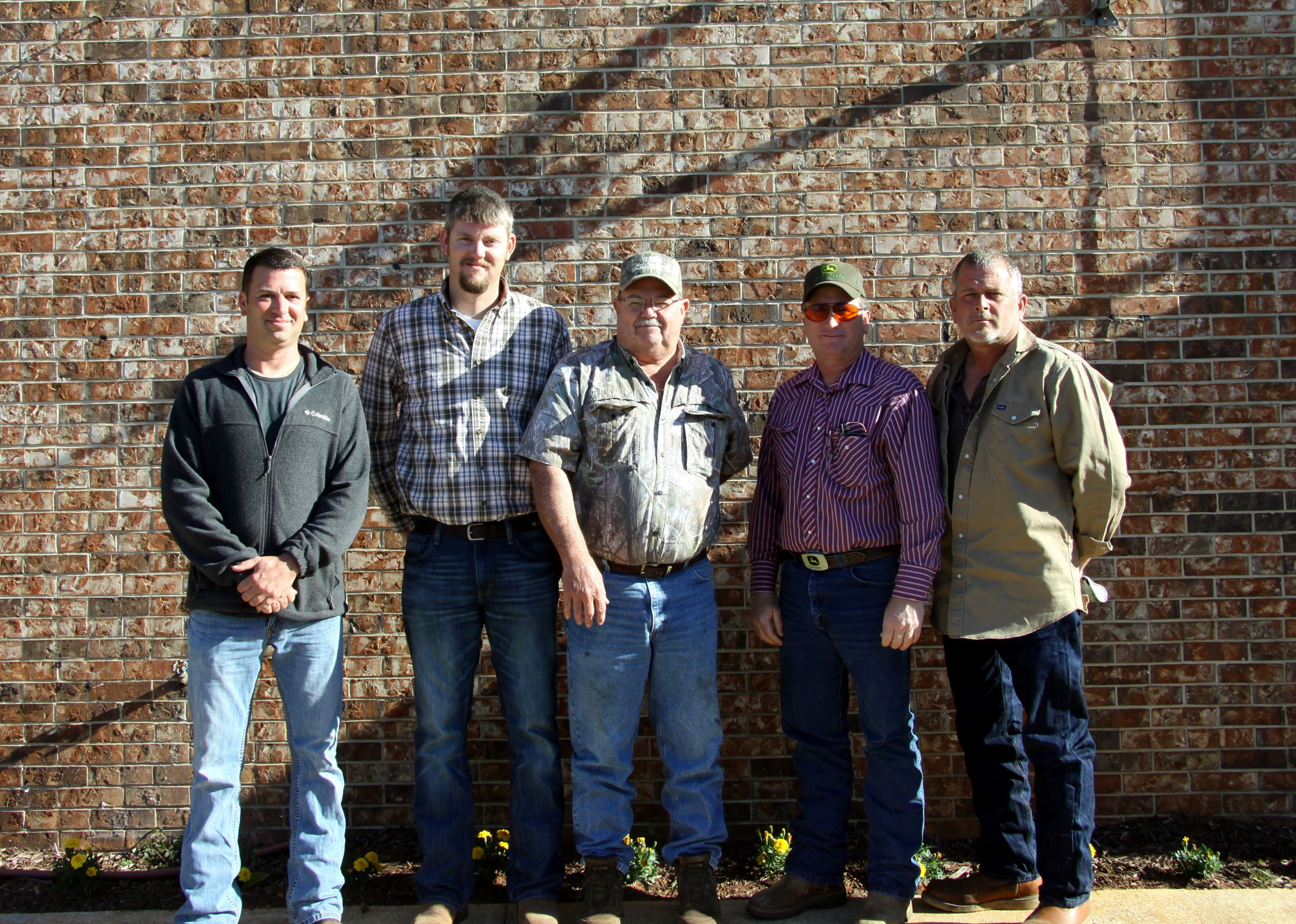 Image Left to Right, Lucas Killam, Tanner Laney, Burlin Findley, Mickey Diamond, & John Salter.