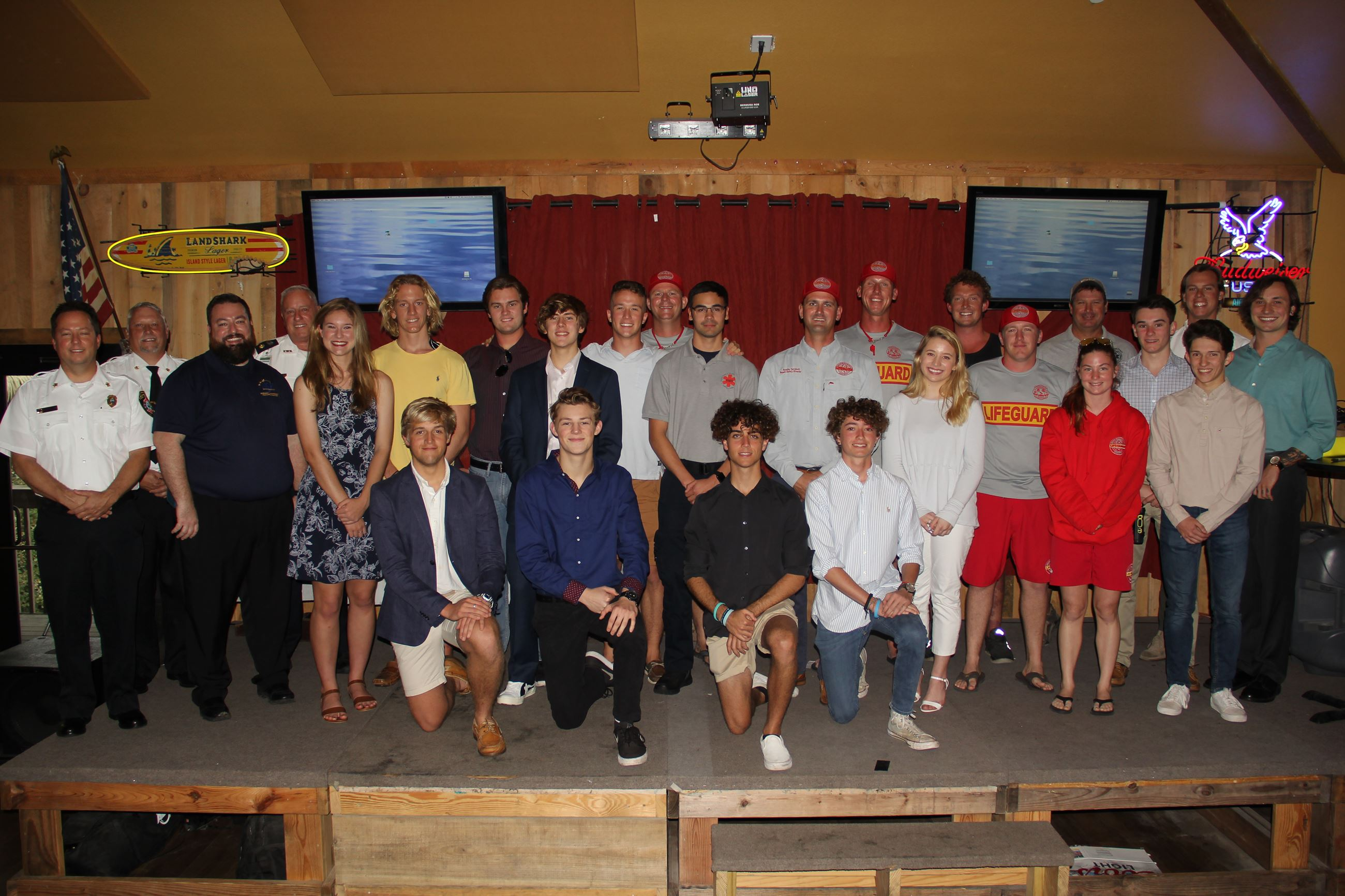 2019 beach lifeguard graduation