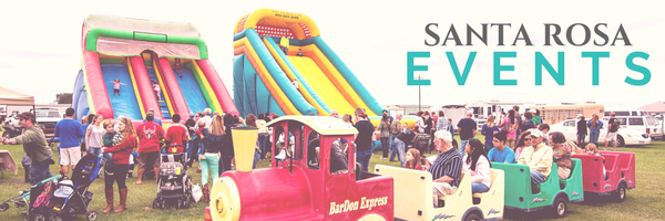 Santa Rosa Events - Bouncy House Carnival