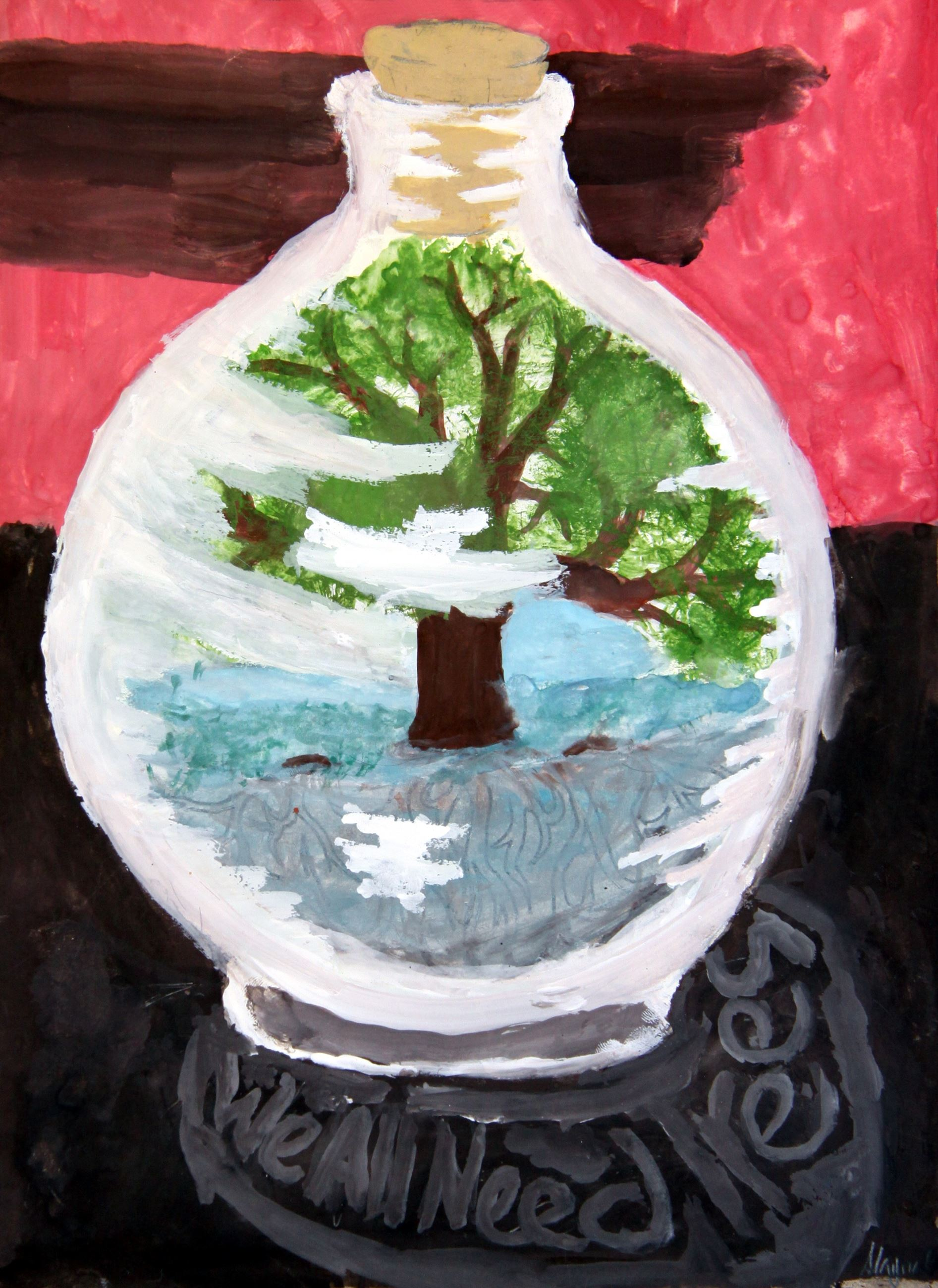 Grade 7 to 9, First Place Winner: Alayna Gardner