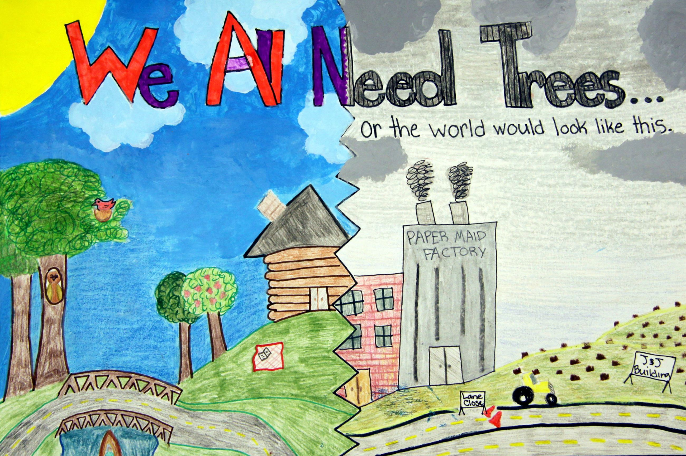 Grade 7 to 9, Second Place Winner: Genna Hoitt