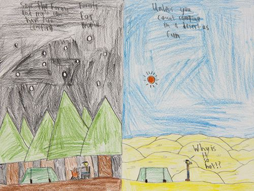 Grade 4 to 6, Second Place Winner: Kyle Rutledge