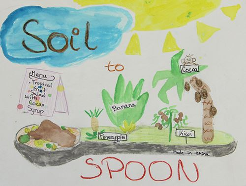 Grade 4 to 6, Second Place Winner: Zofia Uszok