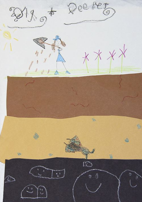Grade K to 1, Second Place Winner: Sarah Hinnant